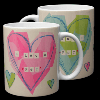 Geordie Mug - A Luv U Pet