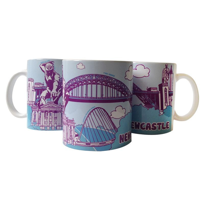 Newcastle Icons Mug North East Gifts