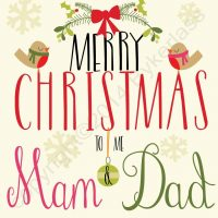 Geordie Christmas Card