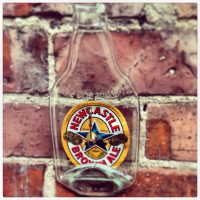 Newcastle Brown Ale Upcycled Clock