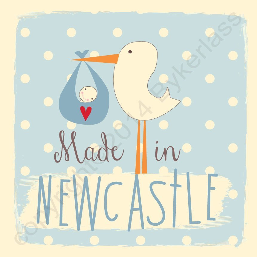 Baby Boy Gifts Newcastle : New baby boy made in newcastle north east gifts